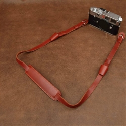 Adjustable Handmade Genuine Leather Camera Shoulder Neck Strap, 2727