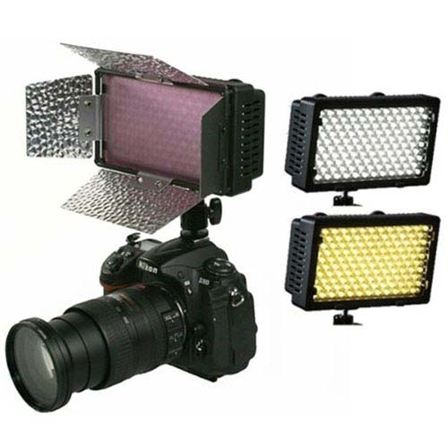 240 Led On Camera Video Light Panel With Adjustable Color Temperature Cn 240