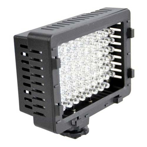 Hot Shoe Mounting 76 Led Video Light Panel Light For Canon Nikon Pentax Panasonic Samsung And Olympus Digital Slr Cameras Cn 76