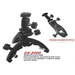 Lightweight Universal Camera Multi-clamp Pod Tripod, CX-3000