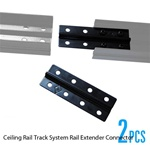 Studio Ceiling Rail Track System Rail Extender, CEILING RAIL CONNECTOR