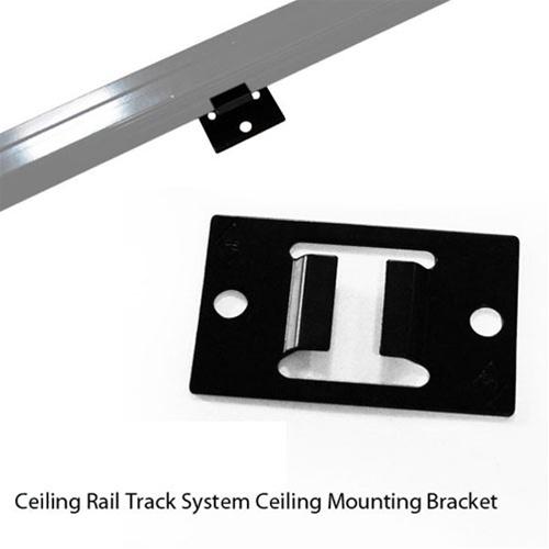 Studio Lighting Rail System: CEILING RAIL MOUNT BRACKET