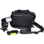 Carrying Case for Nikon or Canon EOS SLR Camera or Rebel Cameras like T3, T3i, 60D, XS, and more, DSLRBAG