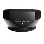 Mennon DV-s Screw Mount Digital Video Lens Hood with Cap, DVS-BLACK