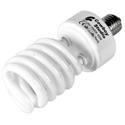 30w, 40w, or 45w Photo Fluorescent Daylight Light Bulb with Optional Color Temperatures, EL-SMALL BULB