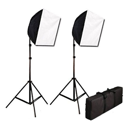 Photography Studio Video Quick Softbox Lighting Light Kit Case 600 Watt Output EZ16x24kitcase  sc 1 st  Cowboy Studio & EZ16x24kitcase