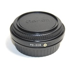 Lens Adapter Canon FD mount Lens to EOS EF Camera With Glass focus infinity, FD-CANON