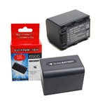 Replacement Sony NP-FH70 Battery for Sony Handy Cam DCR-DVD850 SX40 SX41 SX60 HDR-CX100 TG5 CX500 CX520 XR100 XR200 XR500 XR520 Camcorders
