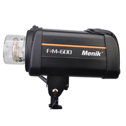Menik FM-600 600W LED Studio Monoblock Flash with LCD Screen
