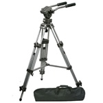 Professional Heavy Duty 75mm Video Camera Tripod with Fluid Drag Head, FT9901