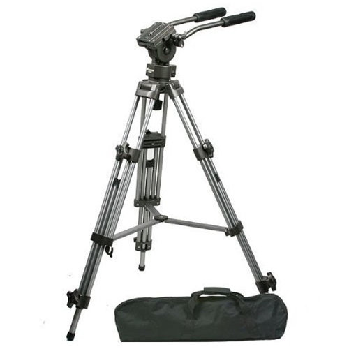 Professional Heavy Duty 75mm Video Camera Tripod With