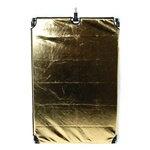 "Studio Flag Pannel Set 24""x36"" or 36""x48"", 4in1 B/W/G/S Reflector Panel, FLAG PANNEL RE2007"