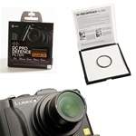 GGS Pro DC UV Protective Filter Lens Protector for Panasonic LX-5 / Leica D-LUX5, GGS LX5 UV SCREEN PROTECTOR