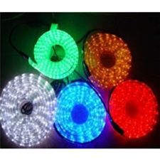 Gr 120v greenwatt 160ft 2 wire 12 led rope light 6 color options aloadofball Gallery