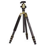 Triopo GT-2804X8C Adjustable Portable Carbon Fiber Tripod with B-2 Aluminum Ball Head for Canon Nikon Sony DSLR Camera