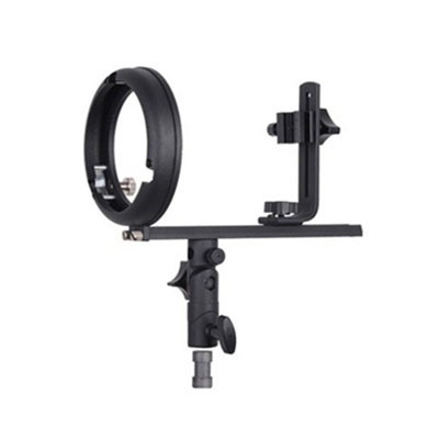 Speedlite Flash Softbox T Bracket With Hot Shoe Mount For Canon And Nikon GadTmount