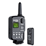 Godox FT-16S 16 Channels Wireless Power Control Flash Trigger Set for V860c V860n V850 Speedlite Camera (US W/H)