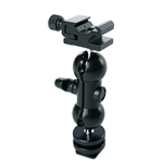 360 Degree Flash Shoe Holder Mount Bracket for Video Lights & Microphones, Hot Shoe Base #2