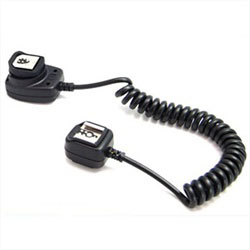 JJC TTL Off-camera Flash Sync Cord for Canon EOS Cameras & Speedlite Flashes (Canon OC-E3 Equivalent), JJC FC-E3 TTL CORD