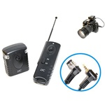 JMB Radio Frequency Wireless Shutter for Nikon, Compatible Nikon MC-30, JMB WIRELESS SHUTTER