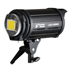Professtional 100WSI Adjustable LED light 5500K with Internal Fan, 800W equivalent, LED100WSI
