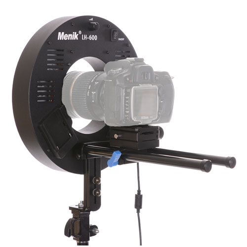 Lh 600 36w 600 Led Video Photo Ring Light For Canon Nikon