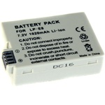 LP-E8 Rechargeable Li-ion Battery for Canon 550D Rebel T2i, LP-E8
