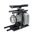 Lanparte Blackmagic Cine Camera Cage Basic Kit for Video Camera Camcorder, BMCC-01