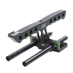 Lanparte Top Handle + Rods BlackMagic Camera Rig, BMCC-01A