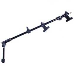 5ft Photo Studio Extendable Reflector Holder Arm with Clamps, M11-085