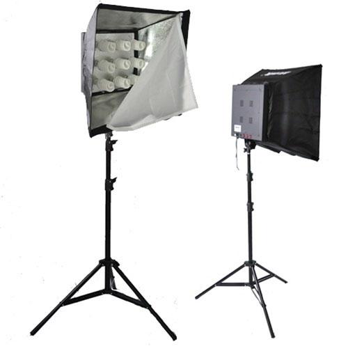 3600 Watt 9 Head Photo Studio Lighting Softbox Video Light Kit Mm 17kit