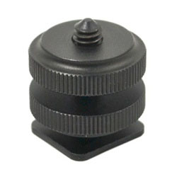 Universal Hot Shoe to 1/4-20 Threaded Adapter, MSA-3