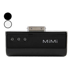 MiMi Power Spirit Emergency Battery for iPhone and iPod (Assorted Colors, 2800mAh)