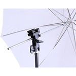 Single Photo Studio Flash Mount B, Stand and Umbrellas Kit, MOUNTB-SOFT UMB-W803