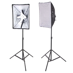 New Design 2000 Watt Photo Studio Lighting Quick Setup Softbox Video Light Kit & Carry Case, N-2000WKIT
