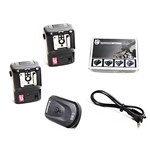 NPT-04 4 Channel Wireless Hot Shoe Flash Trigger & Receiver SET with Extra Receiver,  NPT-04+EXTRA RECEIVER