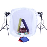 "Large Item Table Top Photography, PS03 Reflector Kit and 40"" or 48"" Tent Options, PS03(TOP55W)_TENT"