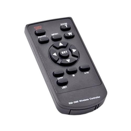 Infrared Wireless Remote Control for Canon Legria/Vixia Camcorders, RM-D89