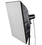 Rectangular Studio Softbox Soft Box with Universal Speedring for Monolight Strobe, RECTANGLE SOFTBOX
