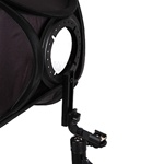 Premium Metal Speedlite Softbox Bracket with Hot Shoe Mount for Nikon Canon Flash Light, SPEEDLITE BRACKET