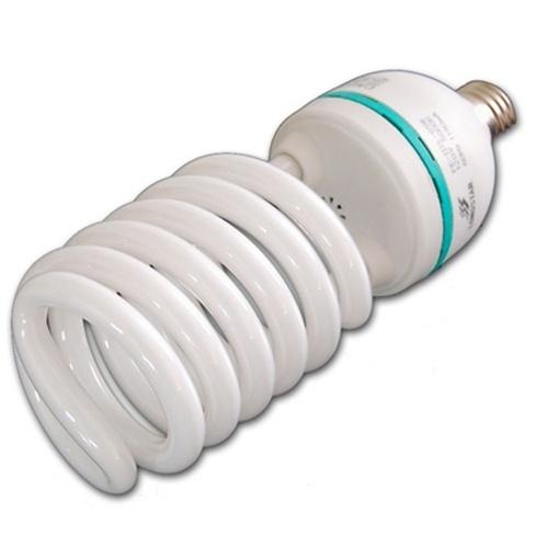 65w 85w Or 105w 5500 K Photo Fluorescent Daylight Light Bulb Spiral