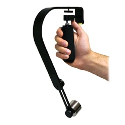 Pro Handheld Video Camera Stabilizer Steady for GoPro, Smartphone, Cannon, Nikon or any DSLR camera up to 2.1 lbs