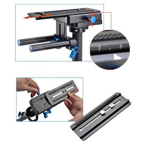 Magic Carbon Fiber Handheld Hand Held Stabilizer DSLR Camera DSLR DV,  STEADYCAM STABILIZER