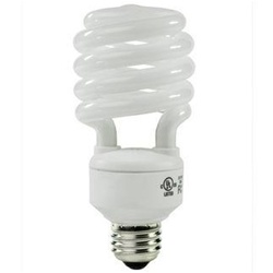 23w or 26w Photo Fluorescent Daylight Light Bulb with Optional Color Temperatures, T2 SPIRAL