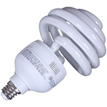 Top Spiral 55 Watt Photo Fluorescent Daylight Light Bulb, TOP SPIRAL