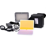 183 LED Video Light for Digital Camera/Camcorder with Rechargeable Battery Pack, VL-183