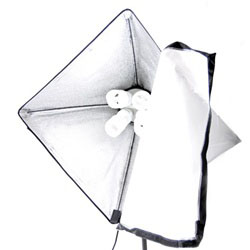 800 Watt Continuous Softbox Light Head with Softbox and 4 45 W 5500K Daylight Light Bulbs, VL-9004HEAD-4XBULBS-SOFTBOX