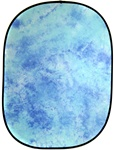 Cowboystudio Collapsible Pop Out Muslin Background Panel W025-Sky Blue, W025 PANEL