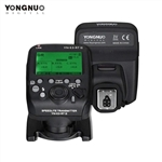 YONGNUO YN-E3-RT II On-Camera Flash Speedlite Transmitter Flash Trigger Compatible for ST-E3-RT/600EX-RT/YN-E3-RT/YN968EX-RT/YN600EX-RTII/YN686EX-RT/YNE3-RX with Andoer Cleaning Cloth