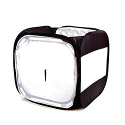 "17""/24"" Black/White Photo Light Tent Cube, BW TENT"